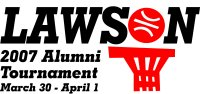 9th Annual Alumni Tourney Logo
