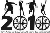 12th Annual Alumni Tourney Logo